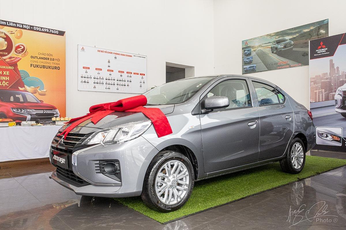 Đánh giá xe Mitsubishi Attrage MT 2020: Lợi thế của chiếc xe này là khả năng tiết kiệm nhiên liệu.