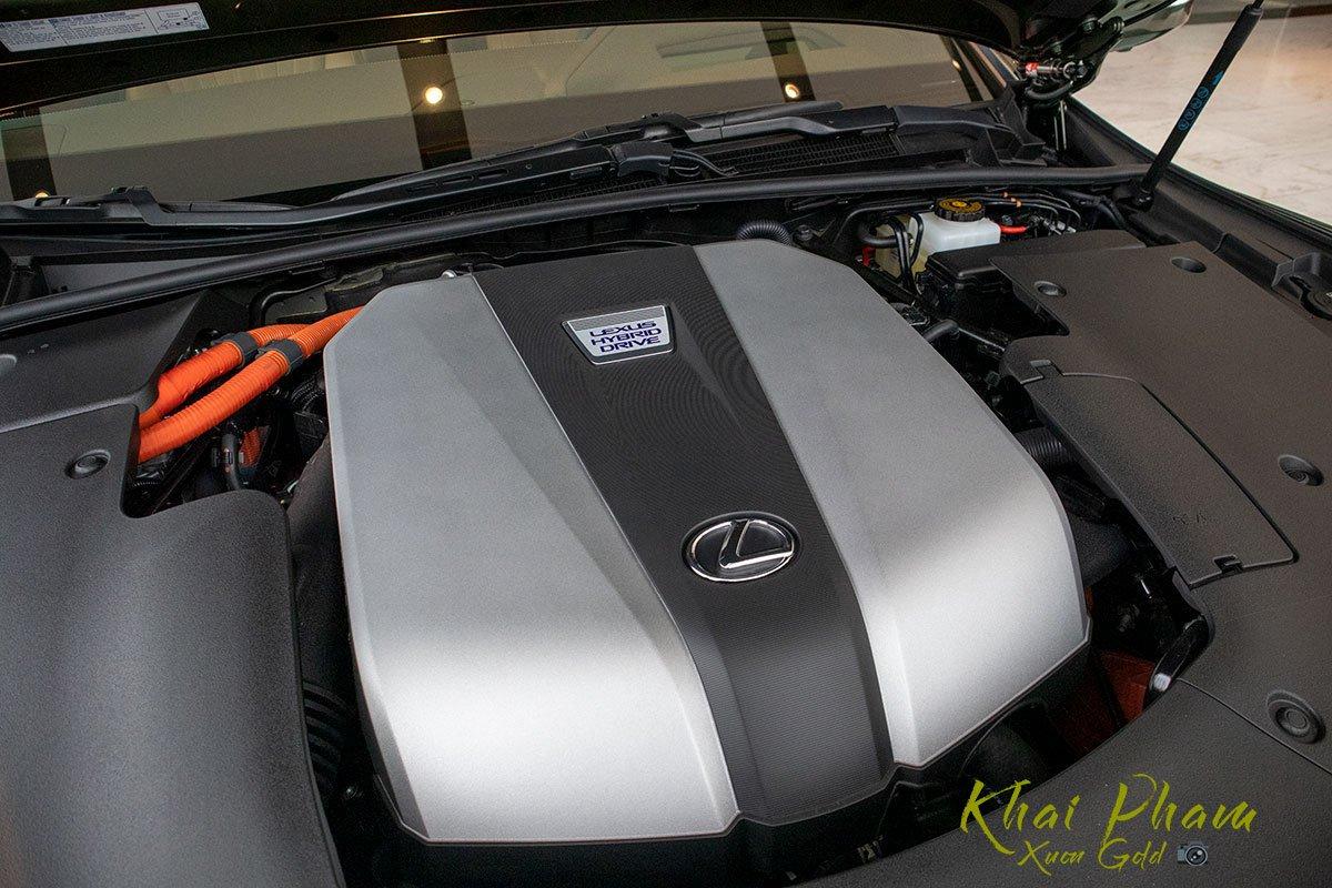Ảnh chụp động cơ xe Lexus LS 500h 2020