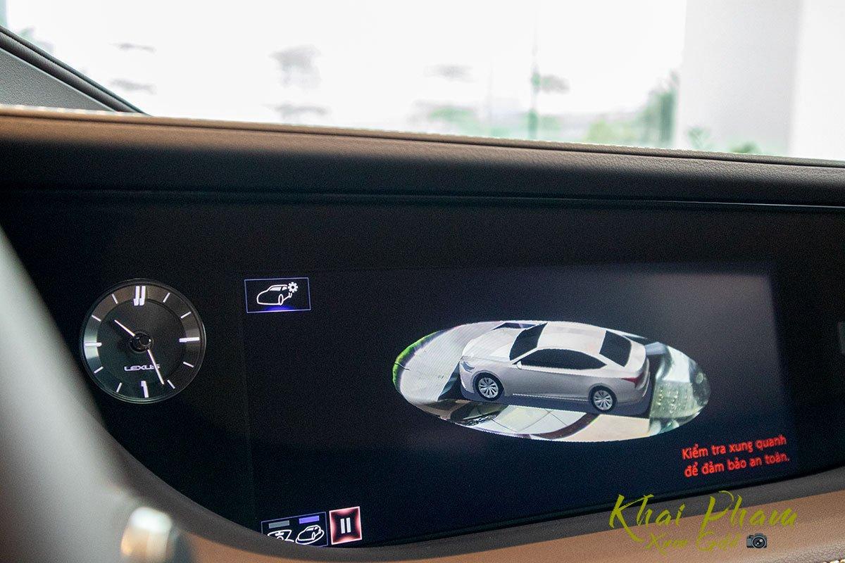 Ảnh chụp an toàn xe Lexus LS 500h 2020