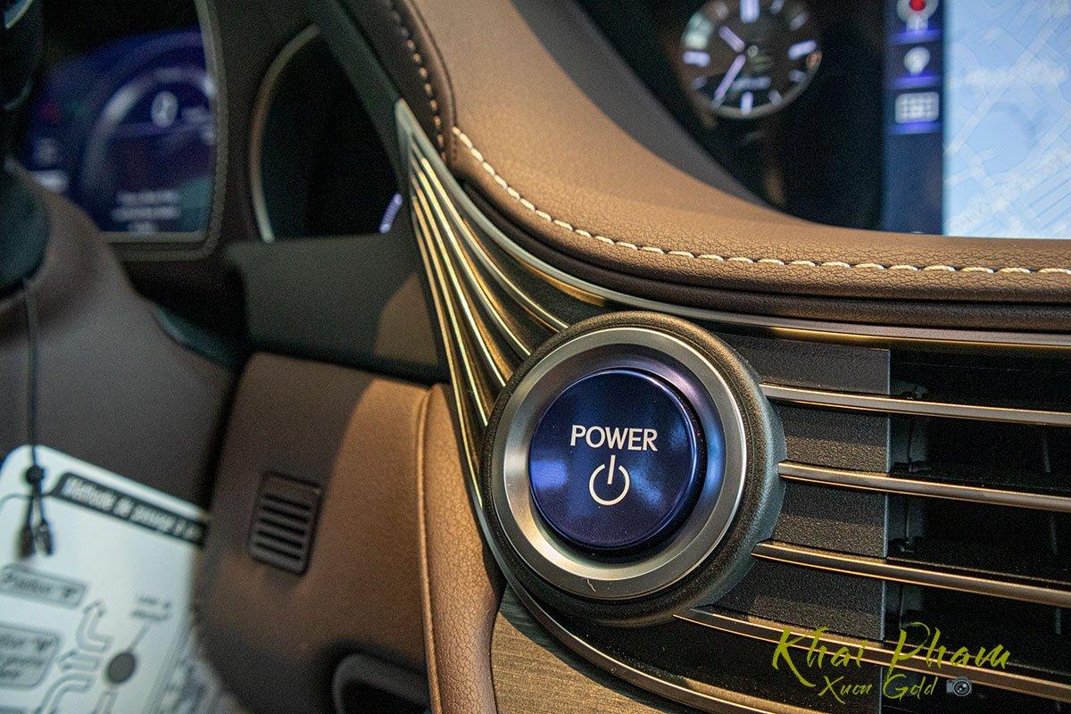Ảnh chụp nút bấm xe Lexus LS 500h 2020 1