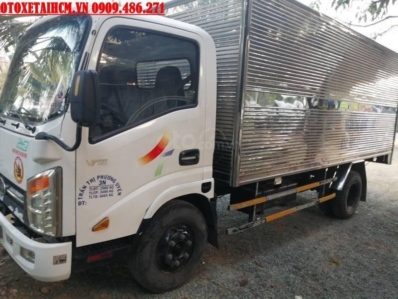 Cần bán xe tải Veam 3.5 tấn thùng kín cũ đời 2017 (1)