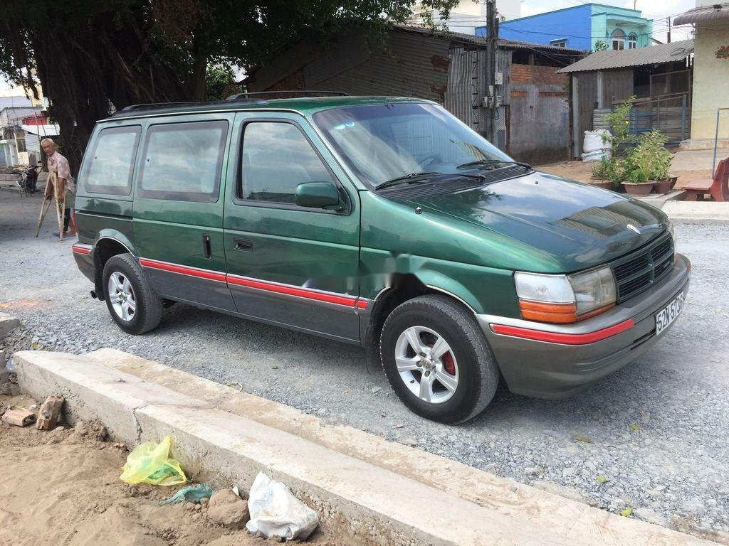 Bán xe Dodge Caravan năm sản xuất 1993, màu xanh (1)