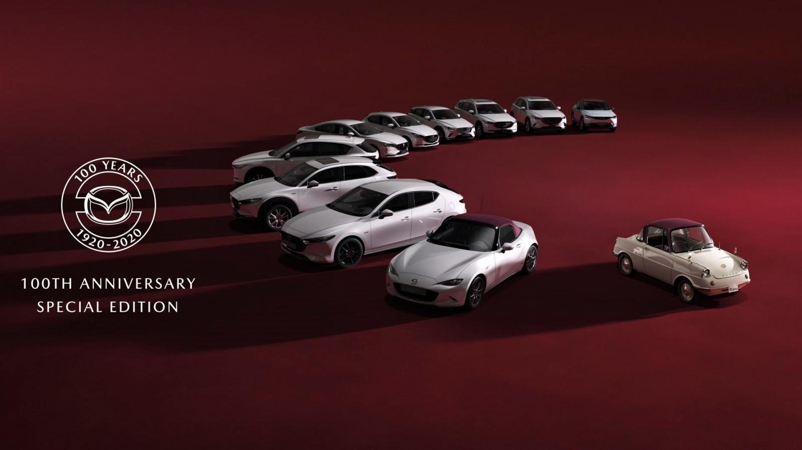 Bộ sưu tập đặc biệt kỷ niệm 100 năm thành lập Mazda 1