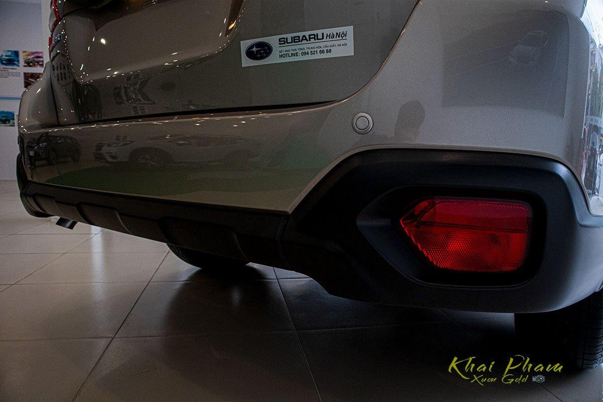Ảnh chụp cản sau xe Subaru Outback 2020