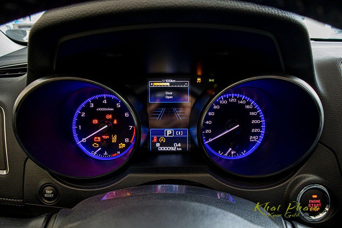 Ảnh chụp đồng hồ xe Subaru Outback 2020 1