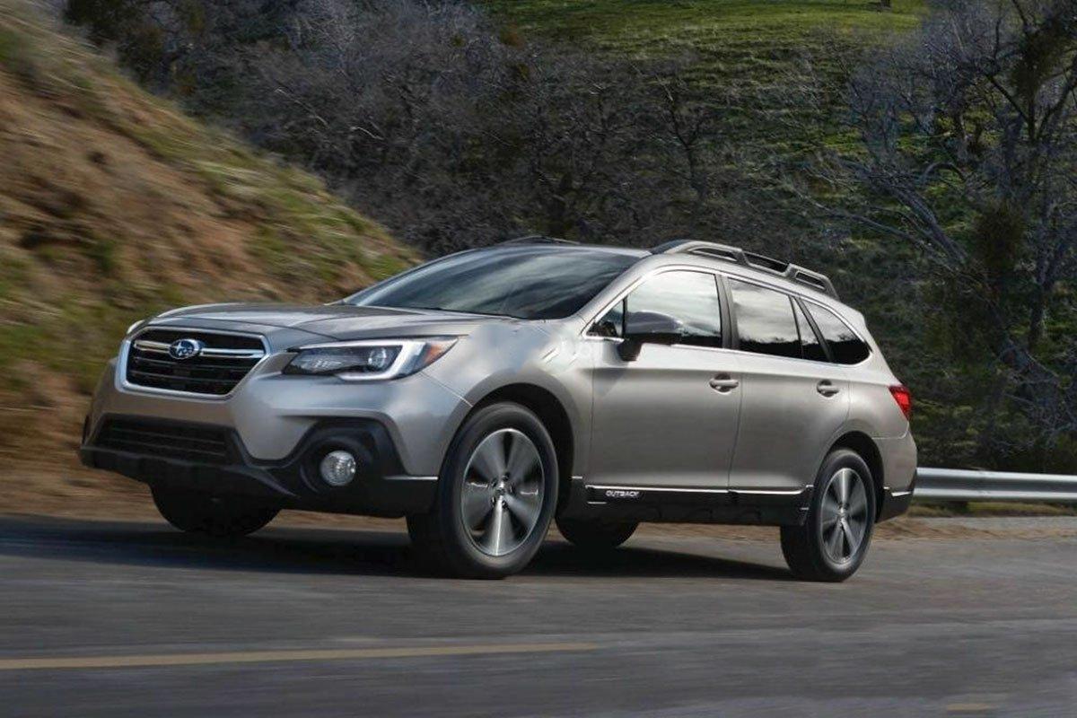 Ảnh chụp trước xe Đánh giá xe Subaru Outback 2020