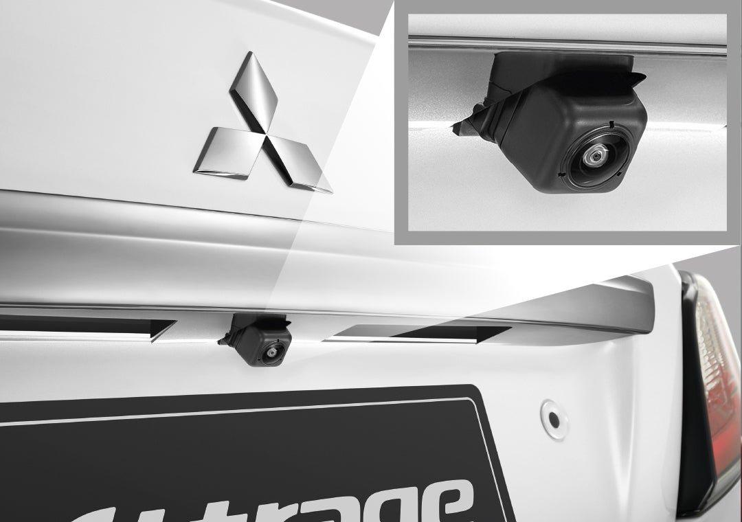 Đánh giá xe Mitsubishi Attrage CVT 2020: Camera lùi.