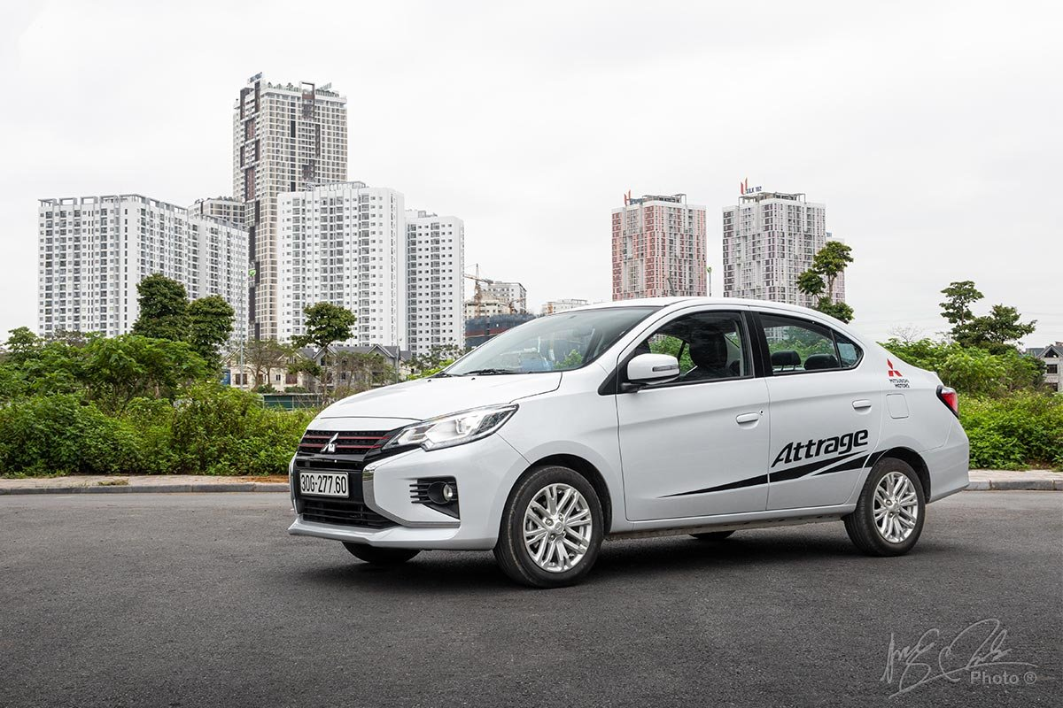 Đánh giá xe Mitsubishi Attrage CVT 2020: Tổng thể.