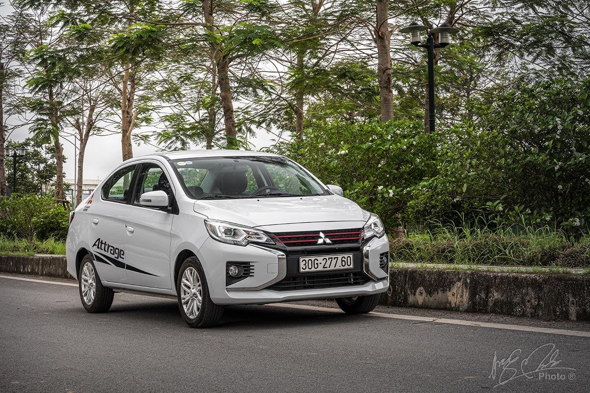 Đánh giá xe Mitsubishi Attrage CVT 2020: Liệu có một cuộc bứt phá về doanh số.
