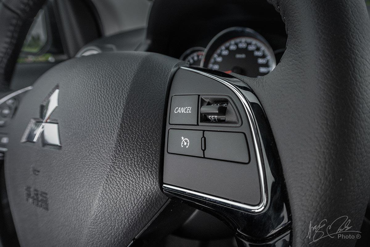 Đánh giá xe Mitsubishi Attrage CVT 2020: Kiểm soát hành trình.