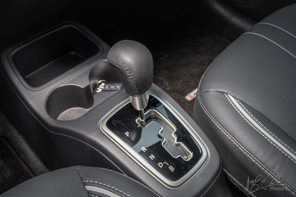 Đánh giá xe Mitsubishi Attrage CVT 2020: Hộp số tự động vô cấp CVT.