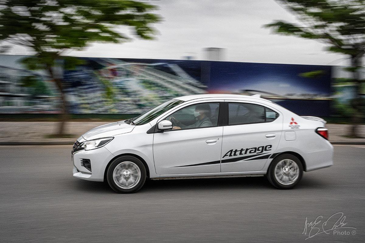 Đánh giá xe Mitsubishi Attrage CVT 2020: Tiết kiệm nhiên liệu được ưu tiên hàng đầu.