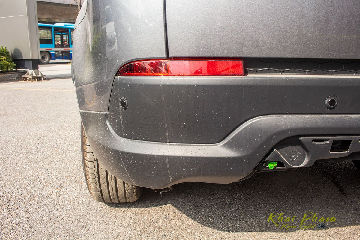 Hình ảnh chụp đèn phản quang xe Land Rover Discovery Sport S 2020