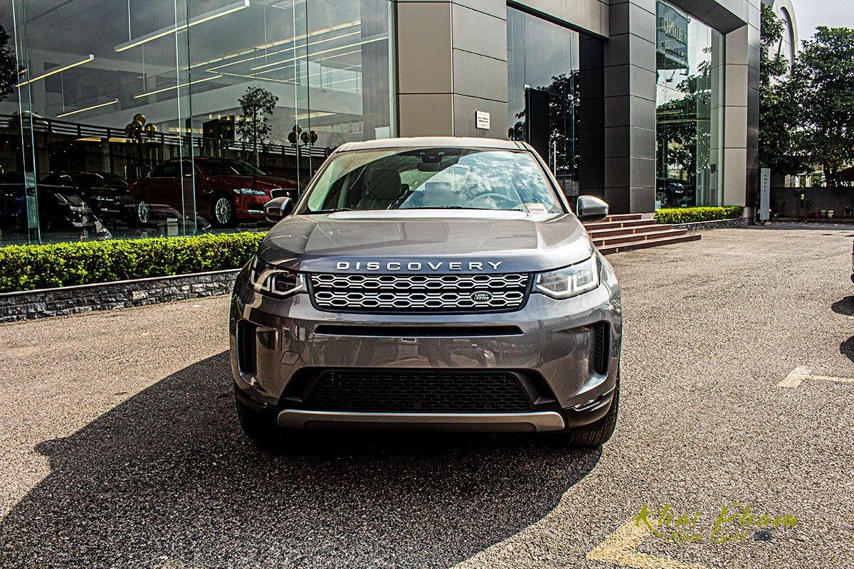 Hình ảnh chính diện đầu xe Land Rover Discovery Sport S 2020