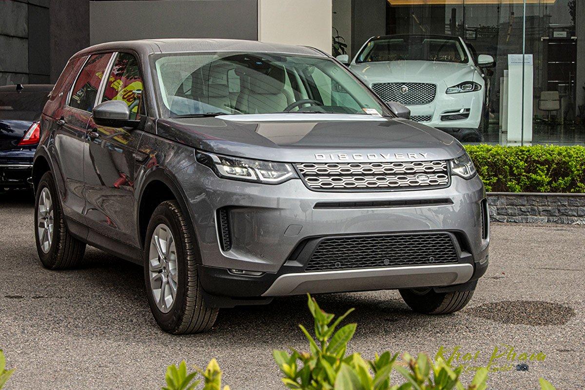 Hình ảnh chụp trước xe Land Rover Discovery Sport S 2020
