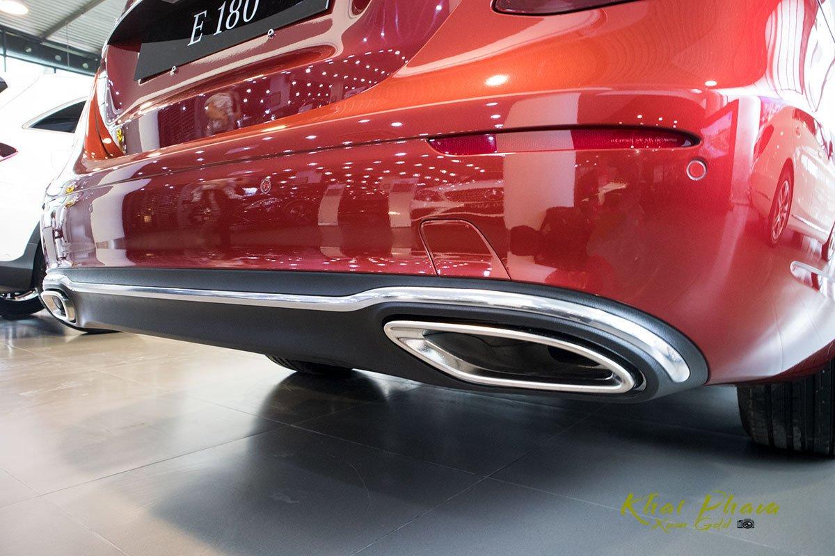 Ảnh chụp cản sau xe Mercedes-Benz E 180 2020