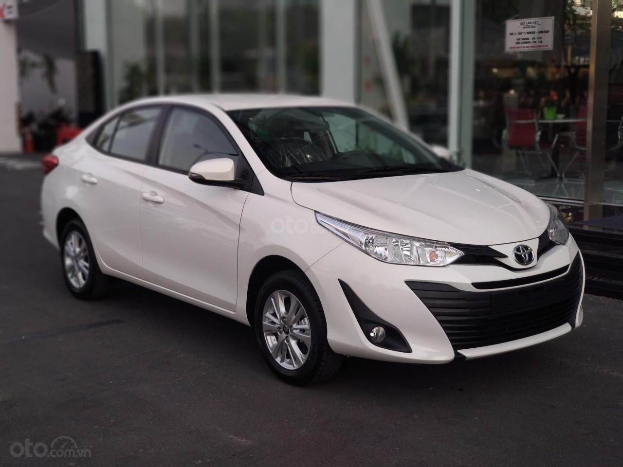 Toyota Vios 1.5E, cam kết giá tốt - cạnh tranh, trả trước 120 triệu - hỗ trợ ngân hàng - lãi suất thấp (1)