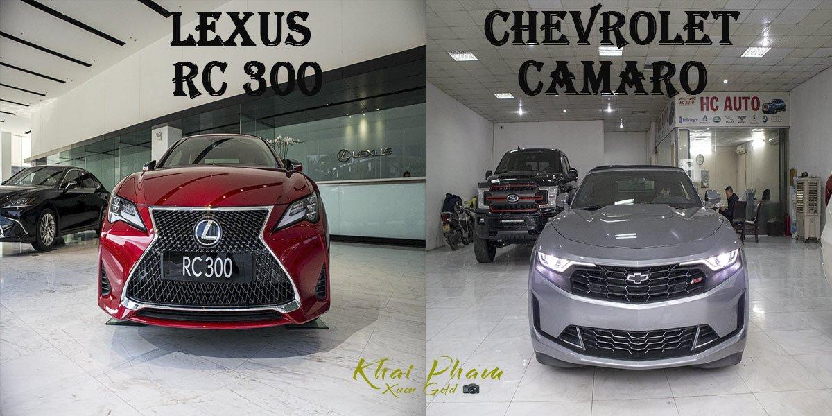 So sánh xe Lexus RC 300 2020 và Chevrolet Camaro 2020: Xe Nhật sang trọng đấu xe Mỹ cơ bắp a1