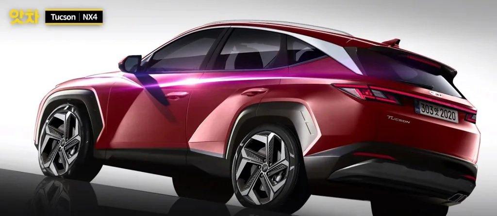 Hyundai Tucson 2021 khoe ảnh dựng