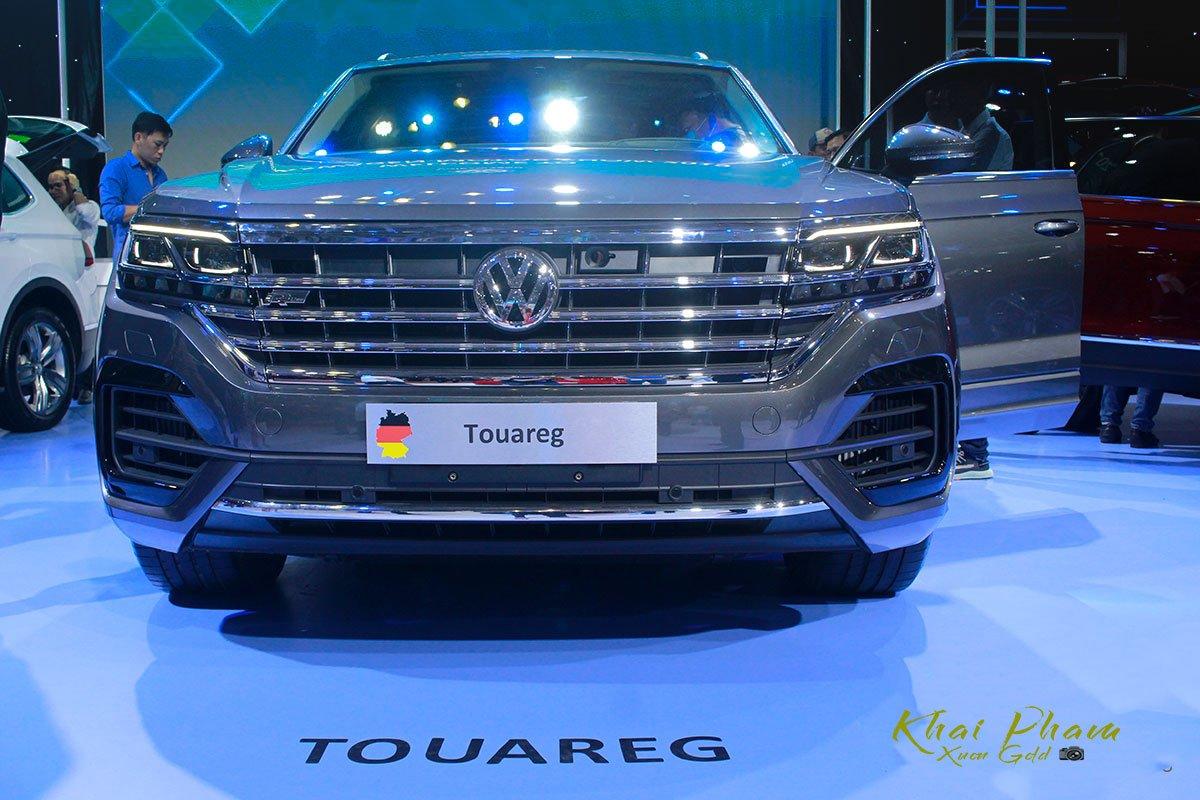 Đánh giá xe Volkswagen Touareg 2019 về thiết kế đầu xe: có nhiều nét giống Arteon 2