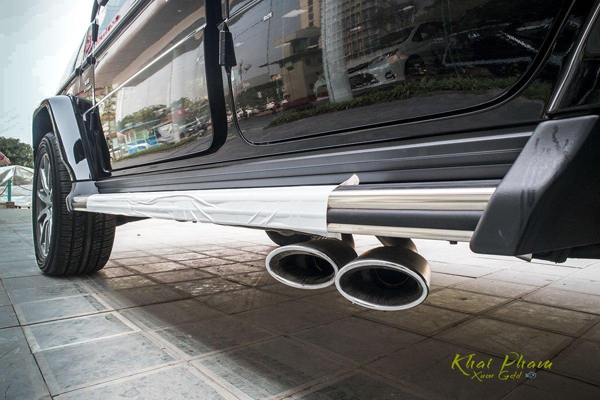Ảnh chụp ống xả xe Mercedes-AMG G63 2020
