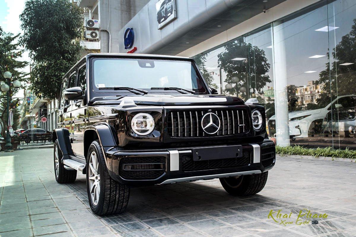 Ảnh chụp trước trái xe Mercedes-AMG G63 2020 1