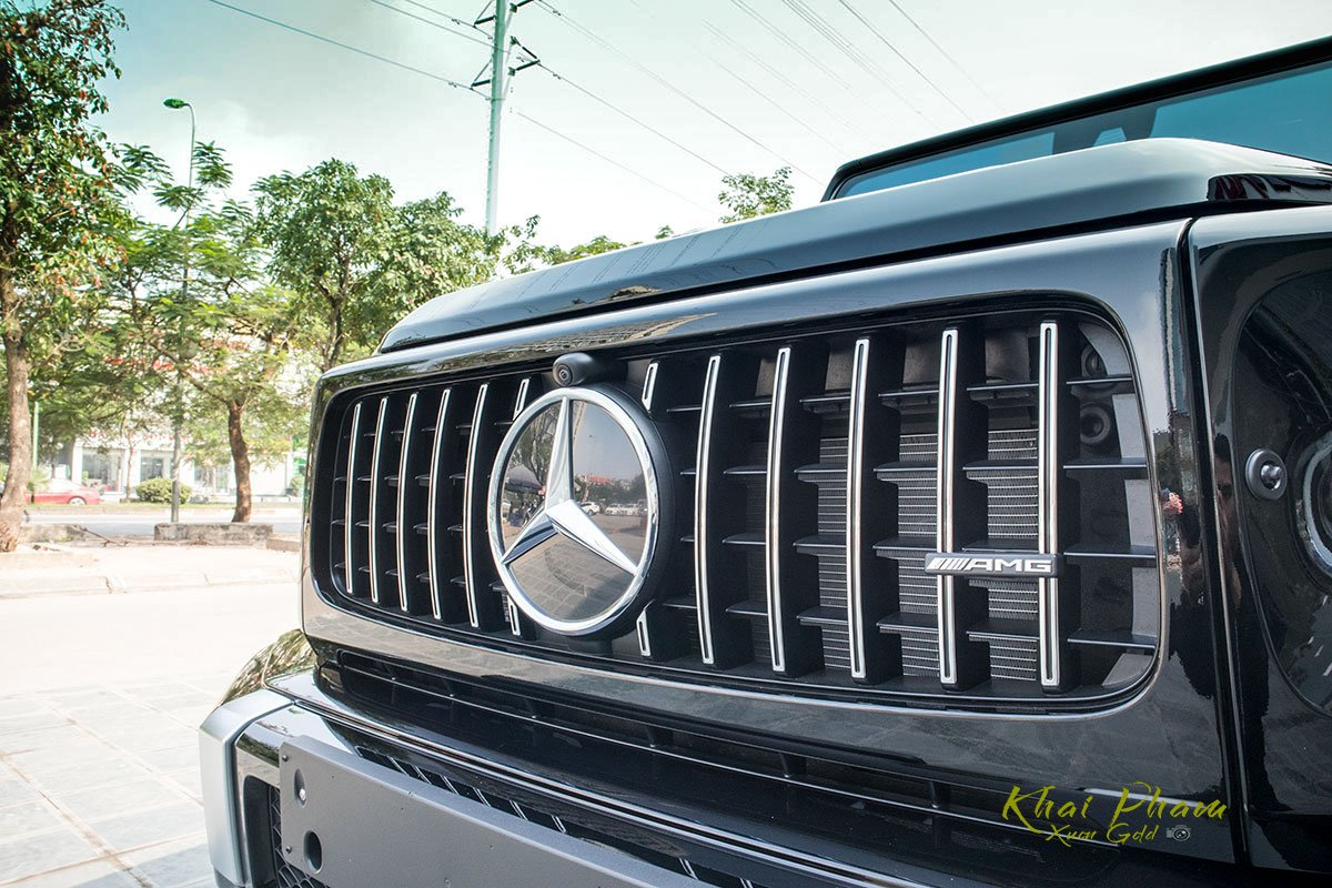 Ảnh chụp Lưới tản nhiệt xe Mercedes-AMG G63 2020
