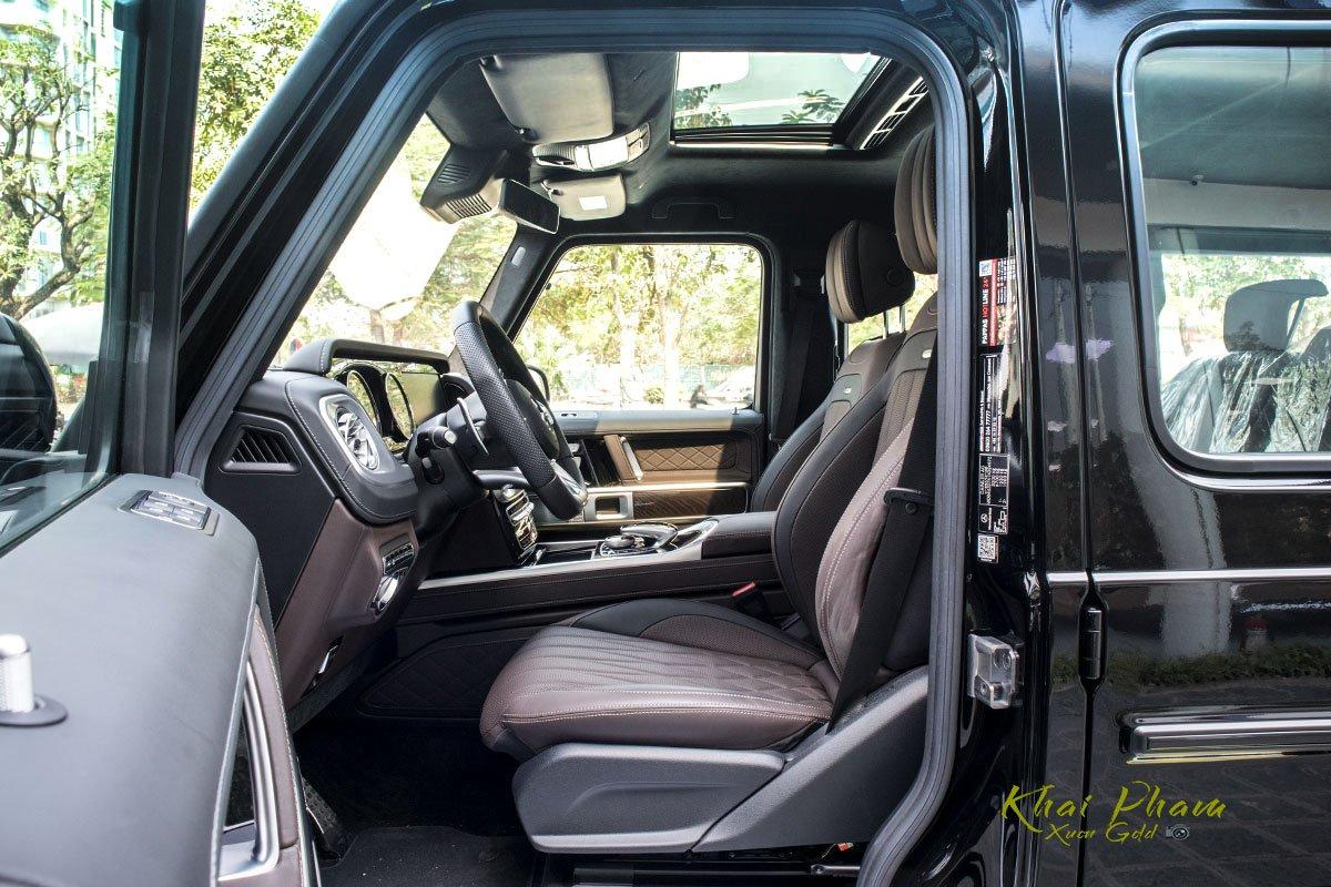 Ảnh chụp ghế lái xe Mercedes-AMG G63 2020