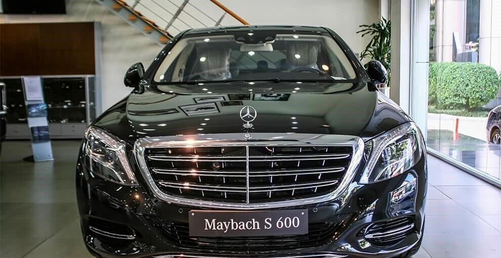 Ngoại thất xe Mercedes Maybach S600