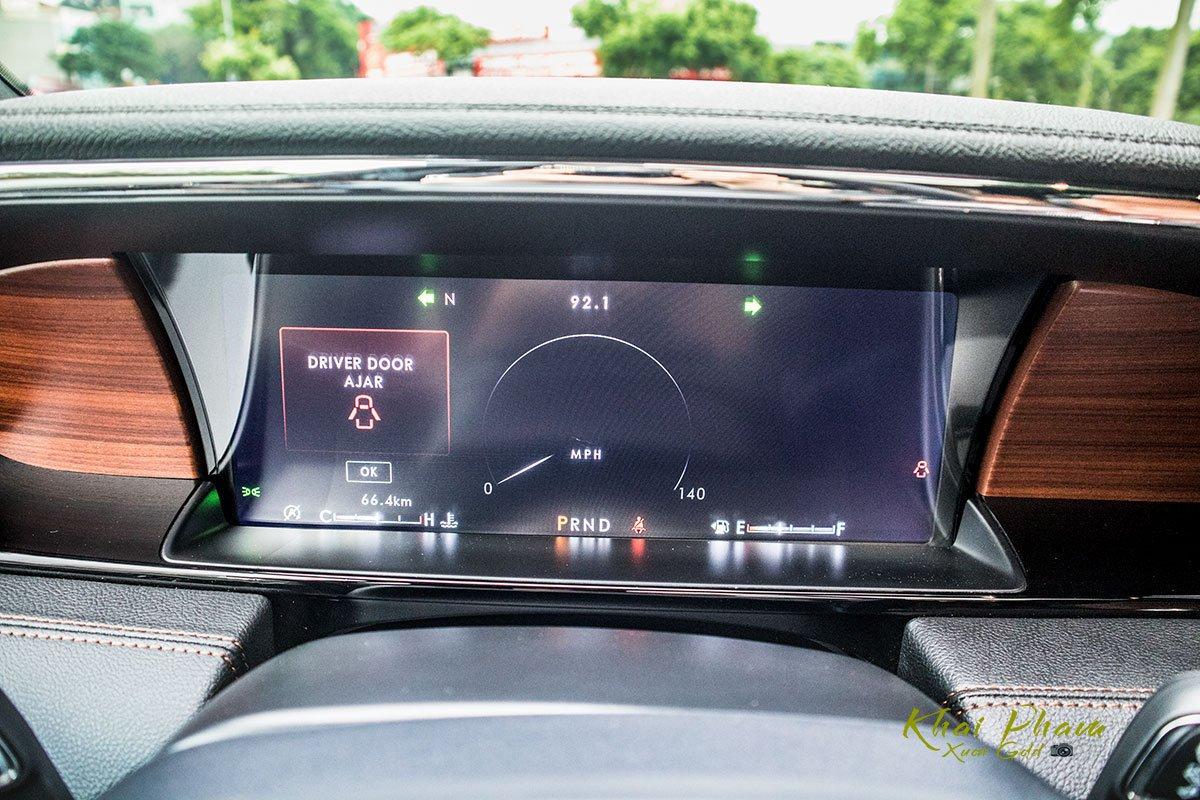 Ảnh đồng hồ xe Lincoln Navigator L Reserve 2020