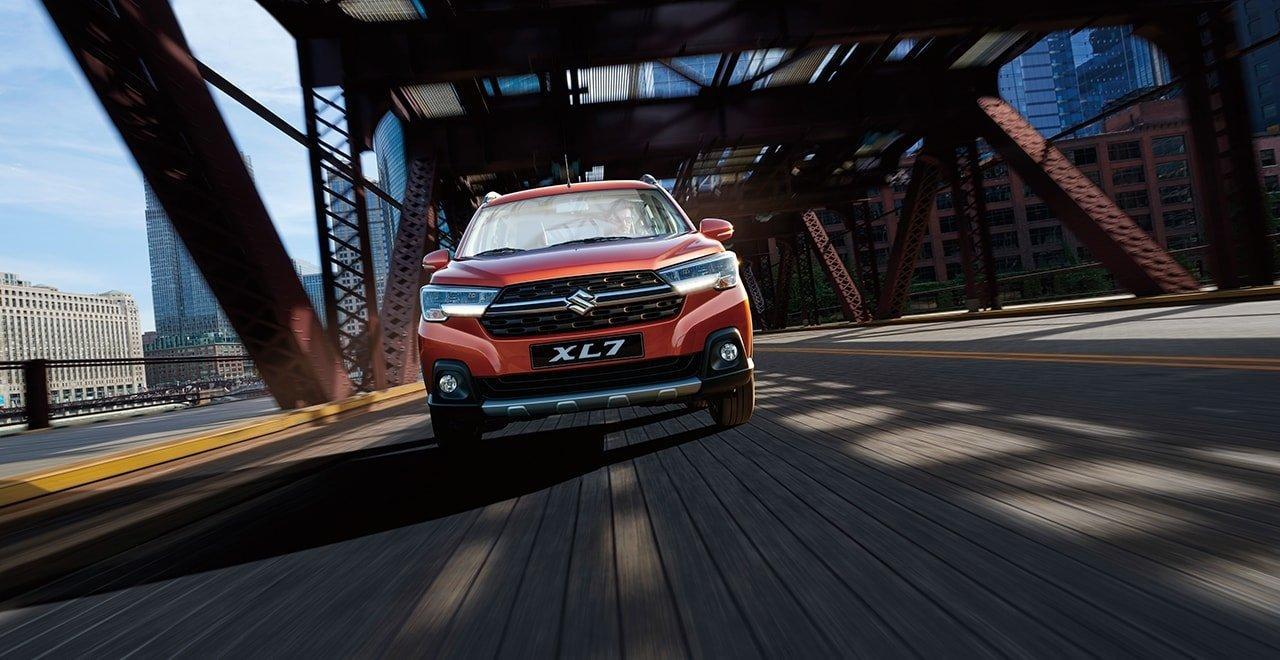 Đầu xe Suzuki XL7 2020 cứng cáp.