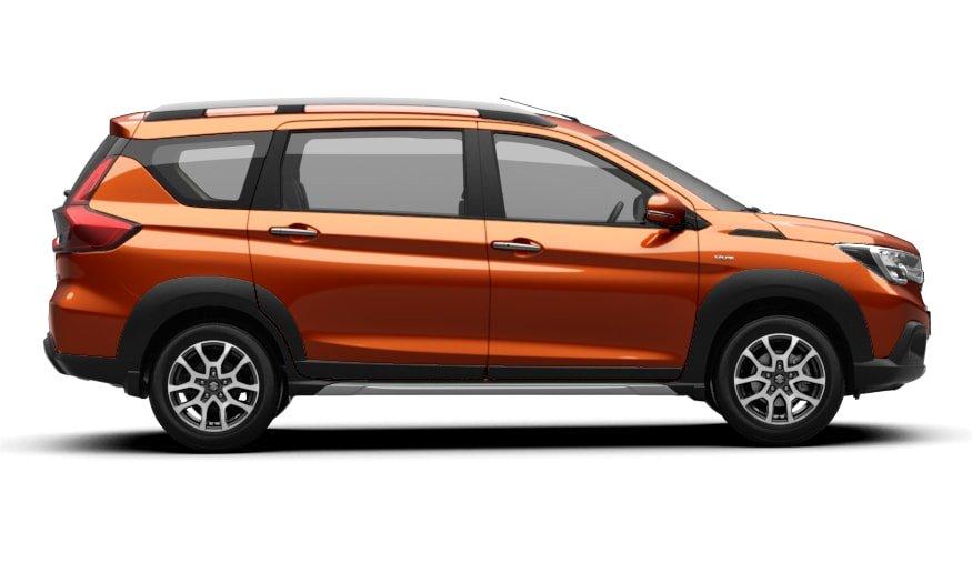 Thân xe Suzuki XL7 2020 vẫn đậm nét Ertiga.