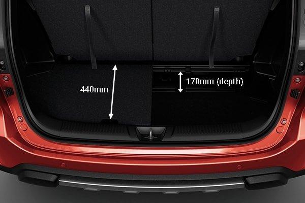 Khoang hành lý Suzuki XL7 2020 - 1.