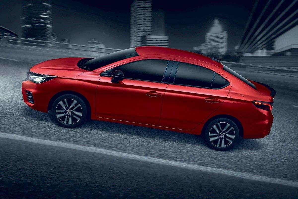 Đánh giá xe Honda City 2020 phiên bản RS: Hỗ trợ khởi hành ngang dốc.
