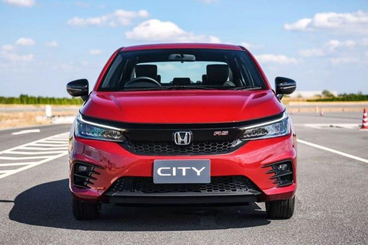 Đánh giá xe Honda City 2020 phiên bản RS: Đầu xe.