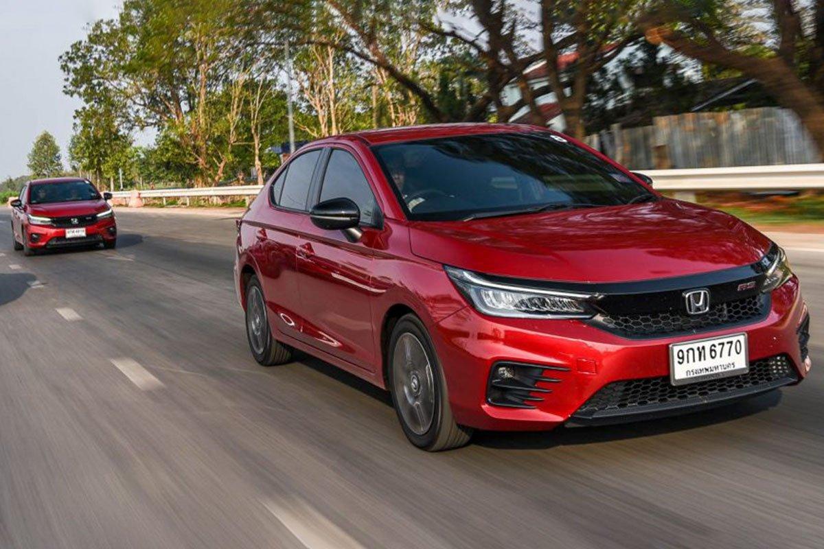 Đánh giá xe Honda City 2020 phiên bản RS: Khả năng vận hành.