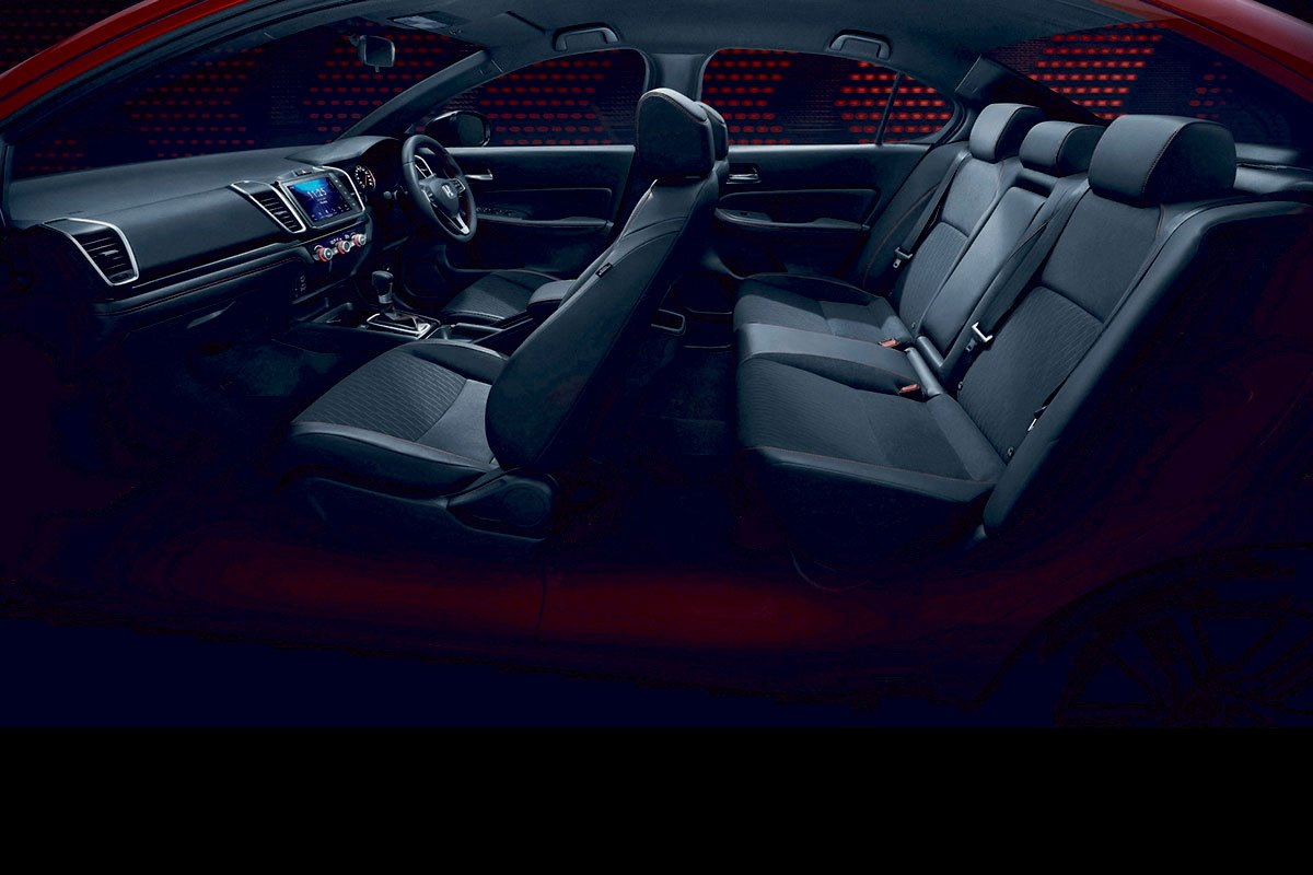 Đánh giá xe Honda City 2020 phiên bản RS: Ghế ngồi.
