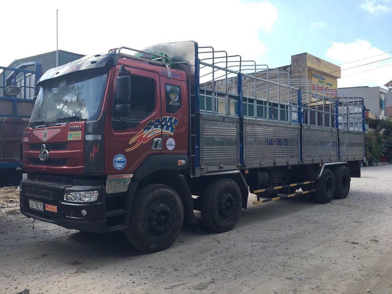 Bán xe tải Chenglong 4 chân, đời 2012 thùng dài 9.75m (2)