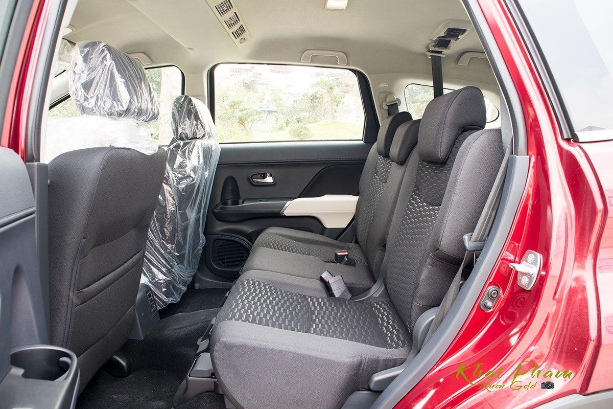 Ảnh ghế sau xe Toyota Rush 2020