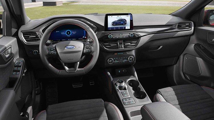 Nội thất xe Ford Escape 2018