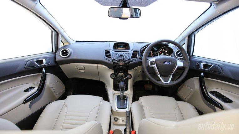 Nội thất xe Ford Fiesta 2018