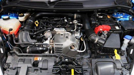 Động cơ xe Ford Fiesta 2018