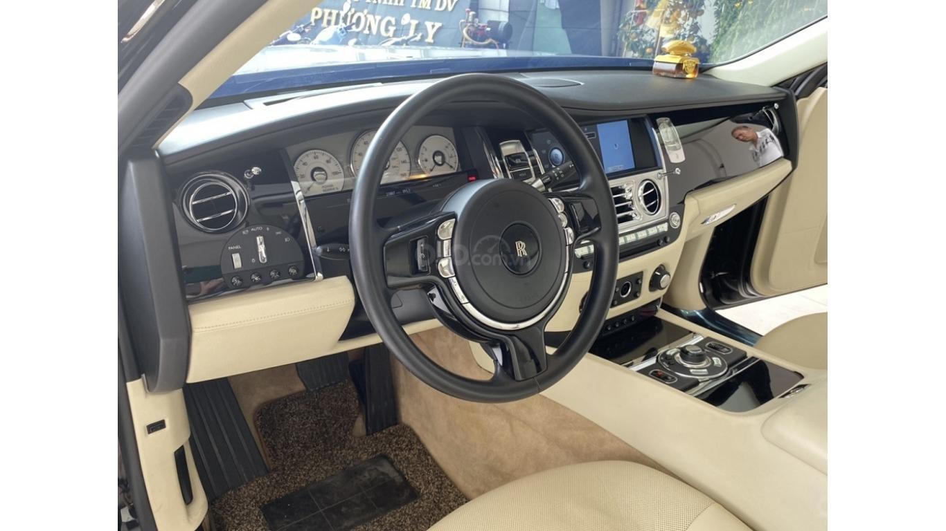 Rolls-Royce Ghost EWB 2013, màu đen, xe nhập (7)