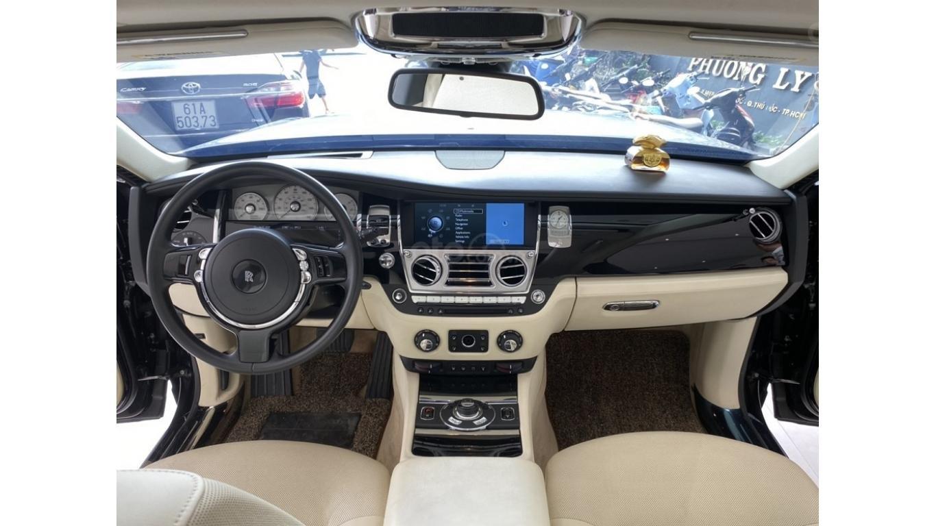 Rolls-Royce Ghost EWB 2013, màu đen, xe nhập (8)