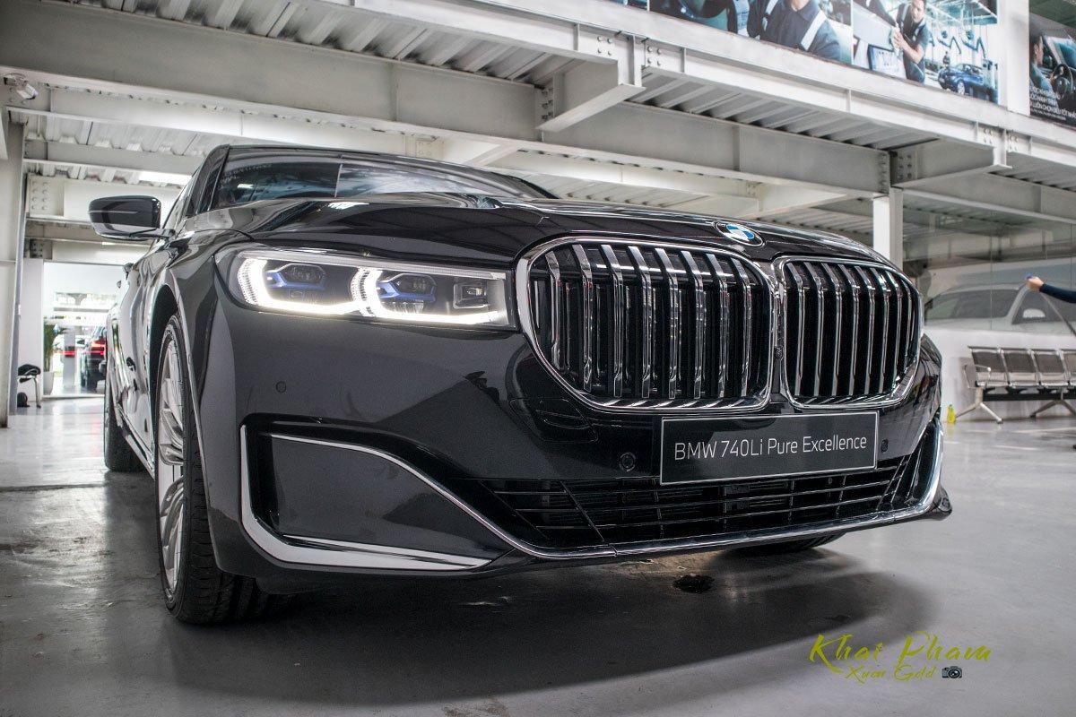 Ảnh trước xe BMW 740Li Pure Excellence 2020