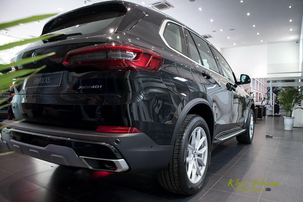 Ảnh đuôi xe BMW X5 xDrive40i 2020