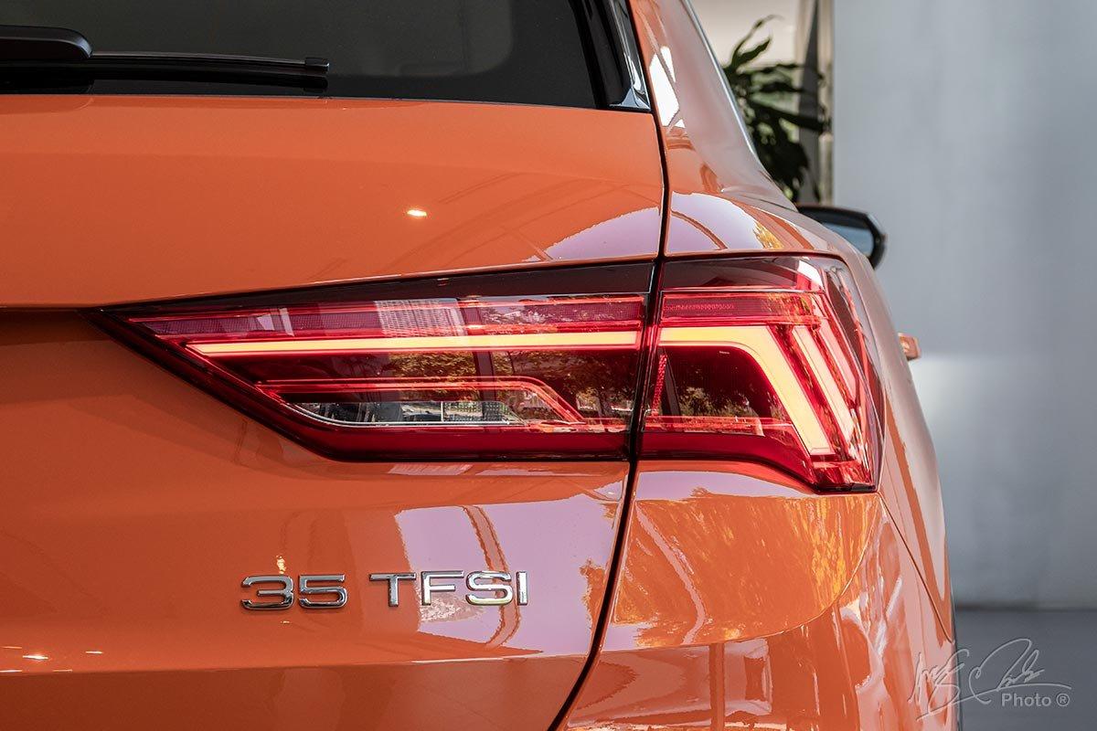 Cụm đèn hậu của Audi Q3 2020 cũng sử dụng công nghệ LED.