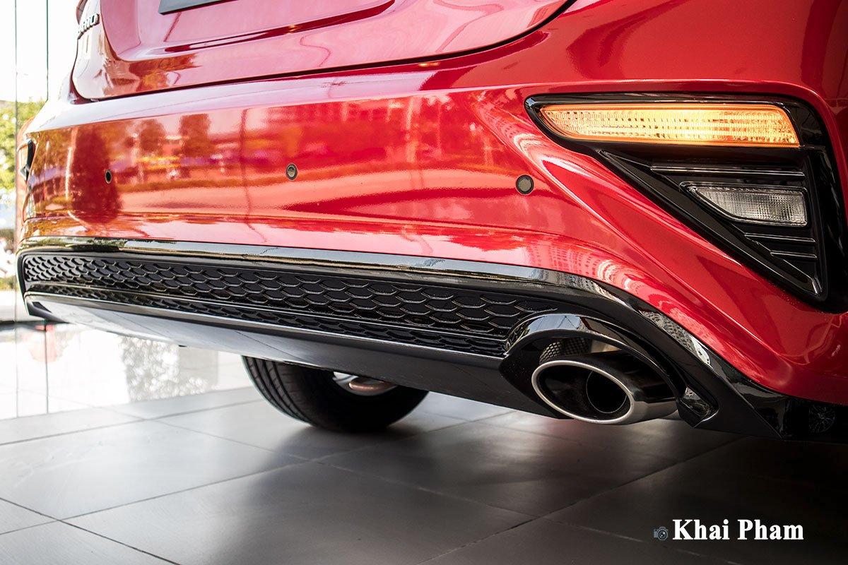 Ảnh Cản sau xe Kia Cerato 2020