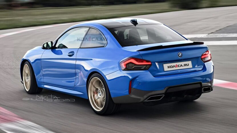BMW 2-Series Coupe 2022 chi tiết đẹp mắt.