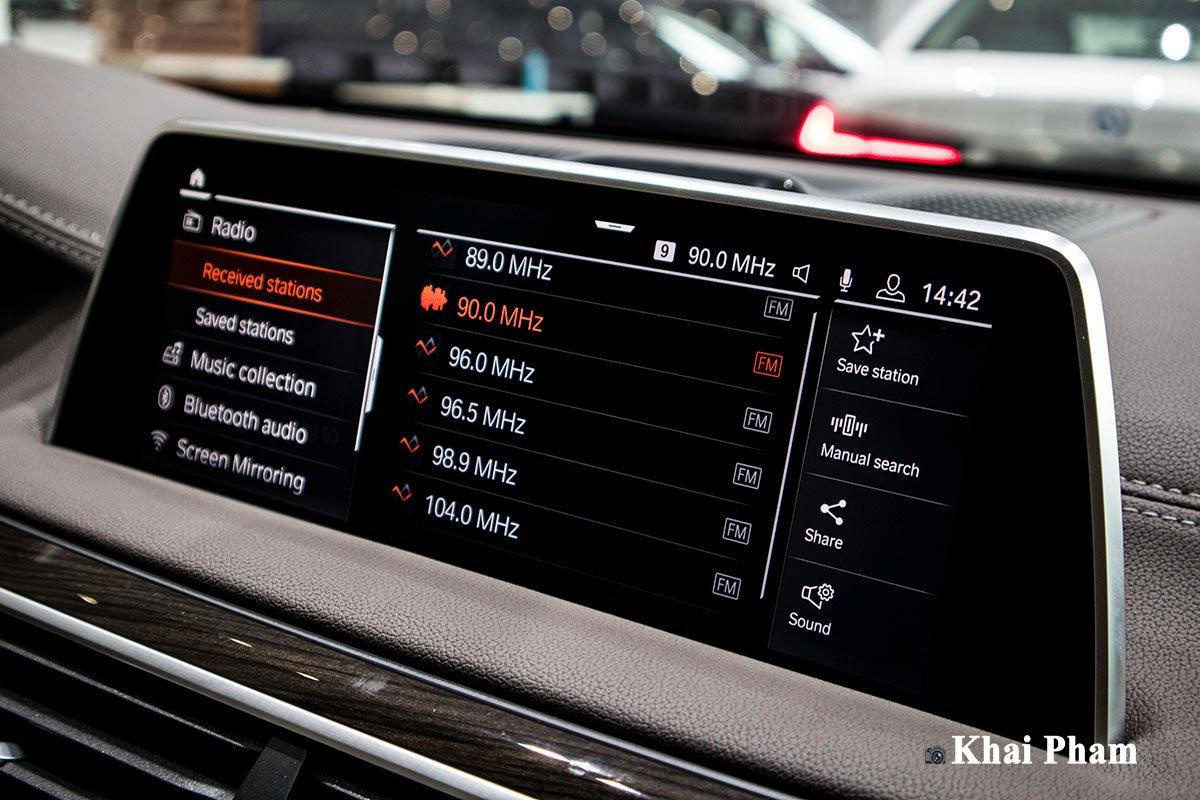 Ảnh màn hình xe BMW 730Li Pure Excellence 2020